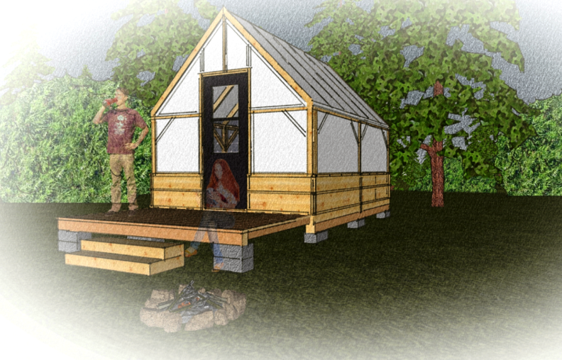 The Canvas Shack Tent Cabin